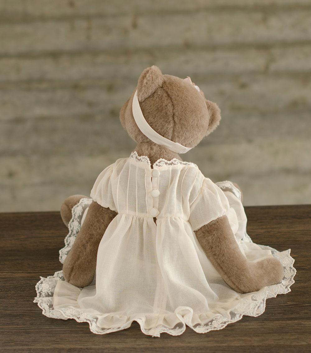 Мишка Лиза, 56 см, платье сзади