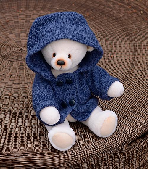 Пальто для мишки Павлика.