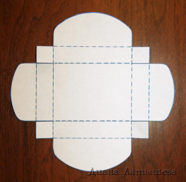 Коробочки своими руками из картона страна мастеров