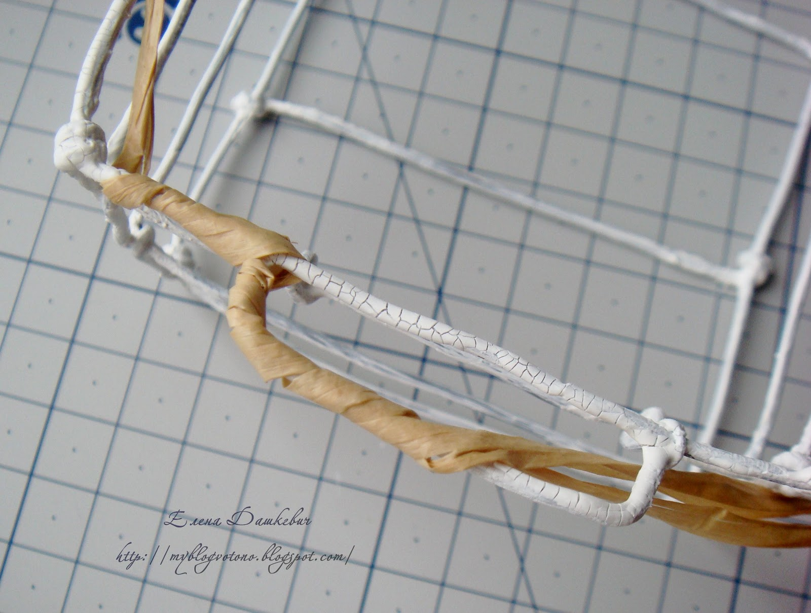 Плетение корзин своими руками из проволоки
