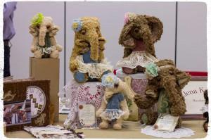 Мишки Тедди. Зарубежные выставки. Висбаден. Фото 11.