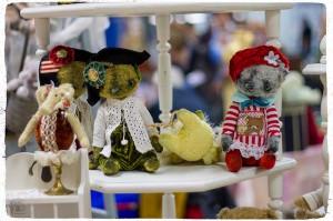 Мишки Тедди. Зарубежные выставки. Висбаден. Фото 49.