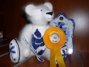 """Мишки Тедди Гузель Костына 9 лет назад. Выставка мишек Тедди """"Теддимания"""" - 2004. Фото 12."""