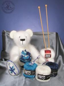 """Мишки Тедди Гузель Костына 9 лет назад. Выставка мишек Тедди """"Теддимания"""" - 2004. Фото 13."""