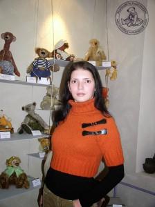 """Мишки Тедди Гузель Костына 9 лет назад. Выставка мишек Тедди """"Теддимания"""" - 2004. Фото 14."""