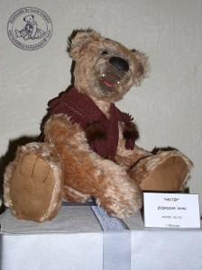 """Мишки Тедди Гузель Костына 9 лет назад. Выставка мишек Тедди """"Теддимания"""" - 2004. Фото 20."""