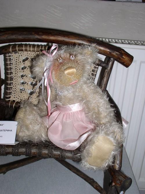 """Мишки Тедди Гузель Костына 9 лет назад. Выставка мишек Тедди """"Теддимания"""" - 2004. Фото 23."""