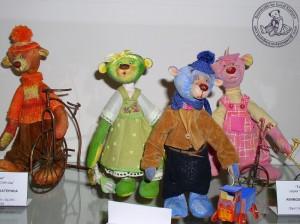 """Мишки Тедди Гузель Костына 9 лет назад. Выставка мишек Тедди """"Теддимания"""" - 2004. Фото 25."""