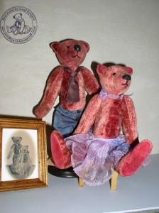 """Мишки Тедди Гузель Костына 9 лет назад. Выставка мишек Тедди """"Теддимания"""" - 2004. Фото 33."""