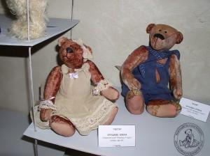 """Мишки Тедди Гузель Костына 9 лет назад. Выставка мишек Тедди """"Теддимания"""" - 2004. Фото 34."""
