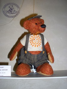 """Мишки Тедди Гузель Костына 9 лет назад. Выставка мишек Тедди """"Теддимания"""" - 2004. Фото 41."""