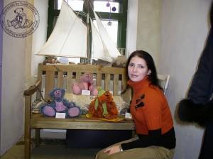 """Мишки Тедди Гузель Костына 9 лет назад. Выставка мишек Тедди """"Теддимания"""" - 2004. Фото 8."""