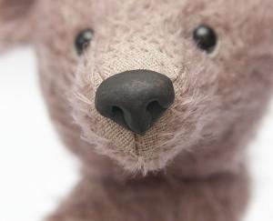 """Мишки Тедди. Мастер-класс """"Лепим нос для мишки Тедди"""". Фото 12."""