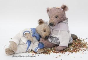 """Мишки Тедди. Мастер-класс """"Лепим нос для мишки Тедди"""". Фото 14."""
