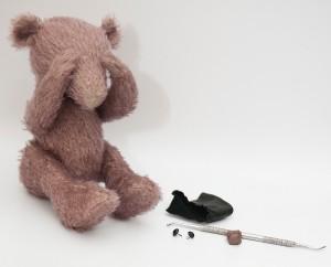 """Мишки Тедди. Мастер-класс """"Лепим нос для мишки Тедди"""". Фото 2."""