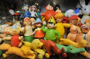 Мишки Тедди. Музей-коллекция игрушек Сергея Романова. Москва. Фото 33.