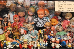 Мишки Тедди. Музей-коллекция игрушек Сергея Романова. Москва. Фото 8.