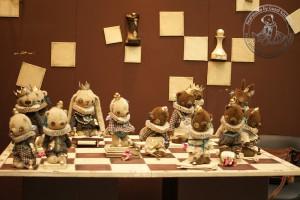 """Мишки Тедди. Выставка """"Искусство куклы"""" - 2013. Фото 16."""