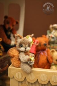 """Мишки Тедди. Выставка """"Искусство куклы"""" - 2013. Фото 26."""