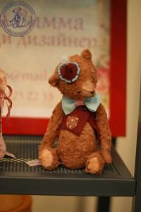 """Мишки Тедди. Выставка """"Искусство куклы"""" - 2013. Фото 38."""