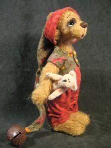 """Мишки Тедди. Мастер-класс """"Как присоединить шею мишке Тедди"""". Фото 1."""