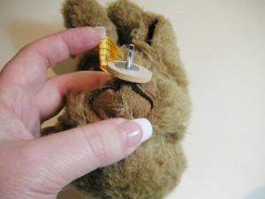 """Мишки Тедди. Мастер-класс """"Как присоединить шею мишке Тедди"""". Фото 11."""