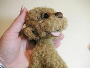 """Мишки Тедди. Мастер-класс """"Как присоединить шею мишке Тедди"""". Фото 13."""
