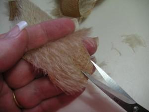 """Мишки Тедди. Мастер-класс """"Стрижка мордочки мишки Тедди"""". Фото 2."""