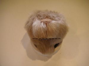 """Мишки Тедди. Мастер-класс """"Стрижка мордочки мишки Тедди"""". Фото 8."""