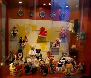 Мишки Тедди. Музей Steiff/ Гинген (Германия). Фото 36.