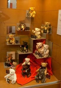 Мишки Тедди. Музей Steiff/ Гинген (Германия). Фото 37.