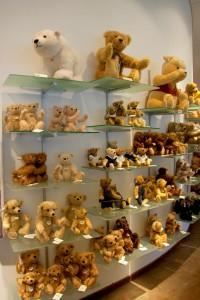 Мишки Тедди. Музей Steiff/ Гинген (Германия). Фото 57.