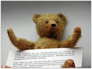 Мишки Тедди. Музей игрушки в башне Старой Ратуши / Мюнхен (Германия). Фото 1.