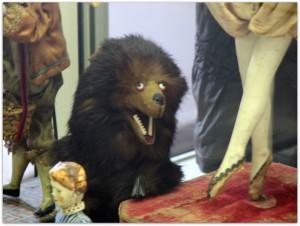 Мишки Тедди. Музей игрушки в башне Старой Ратуши / Мюнхен (Германия). Фото 17.