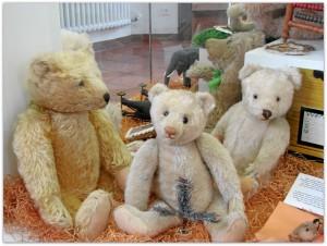 Мишки Тедди. Музей игрушки в башне Старой Ратуши / Мюнхен (Германия). Фото 48.