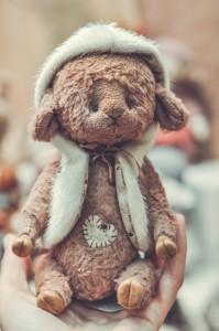 """Мишки Тедди. Выставка """"Салон кукол"""" - 2014. Фото 16."""
