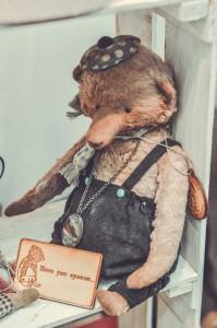 """Мишки Тедди. Выставка """"Салон кукол"""" - 2014. Фото 21."""