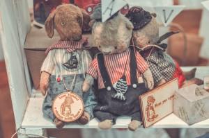 """Мишки Тедди. Выставка """"Салон кукол"""" - 2014. Фото 23."""
