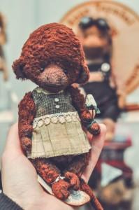 """Мишки Тедди. Выставка """"Салон кукол"""" - 2014. Фото 25."""