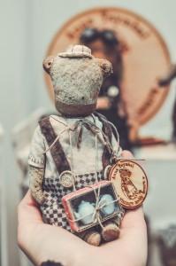 """Мишки Тедди. Выставка """"Салон кукол"""" - 2014. Фото 26."""