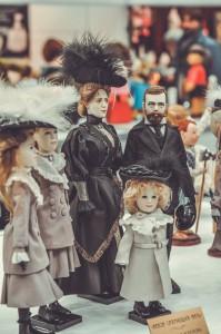 """Мишки Тедди. Выставка """"Салон кукол"""" - 2014. Фото 28."""