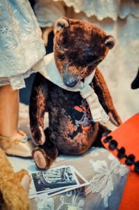"""Мишки Тедди. Выставка """"Салон кукол"""" - 2014. Фото 3."""