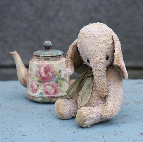 авторский слоник, слон, выкройка,Гузель Костына, GUzel Kostyna, elephant, тедди,