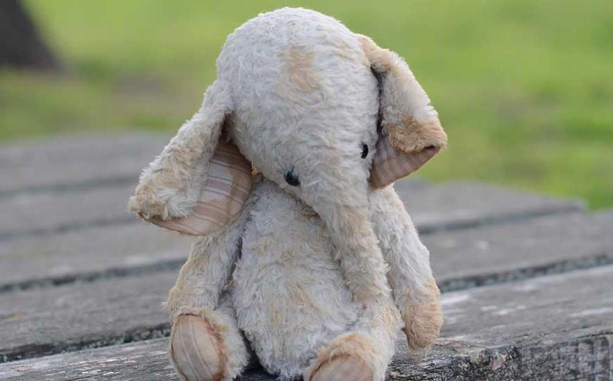 слоник слон вискоза Гузель Костына Guzel Kostyna elephant