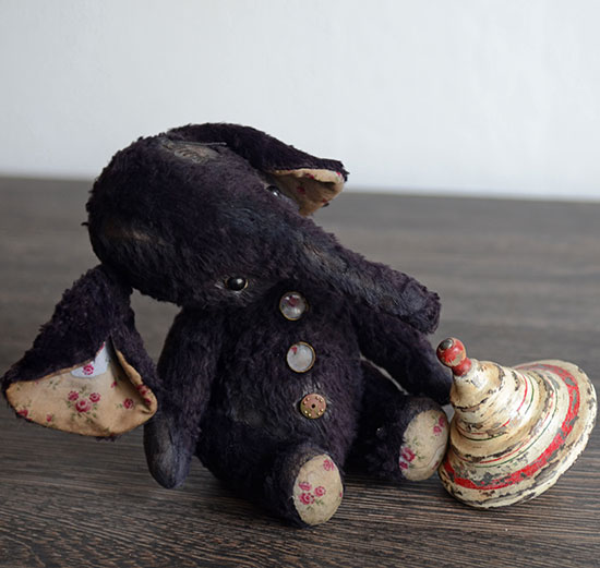 слон слоник слон из вискозы Гузель Костына elephant Guzel Kostyna