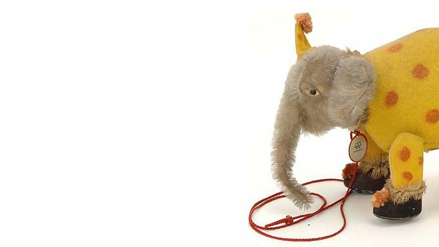 Bing elephant plush teddybear OOAK